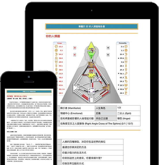 人類圖網上分析服務視圖